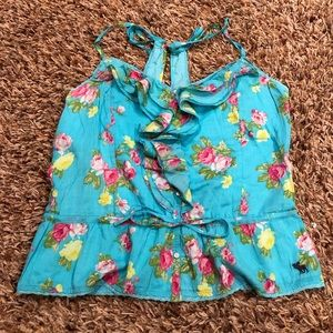 Abercrombie & Fitch - floral tank top size Large